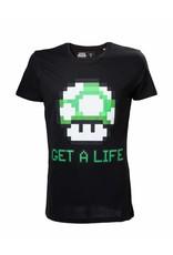 BIOWORLD Nintendo T-Shirt Mario Get a Life