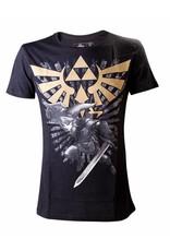 BIOWORLD Legend of Zelda T-Shirt Zelda Warrior noir