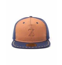 BIOWORLD Zelda - Casquette Snapback - Blue And Leather