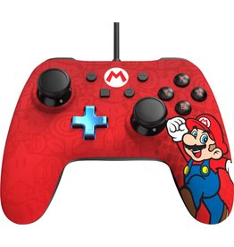 POWER A Manette Filaire Iconic Super Mario