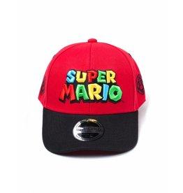 BIOWORLD Nintendo Casquette Baseball Super Mario Logo