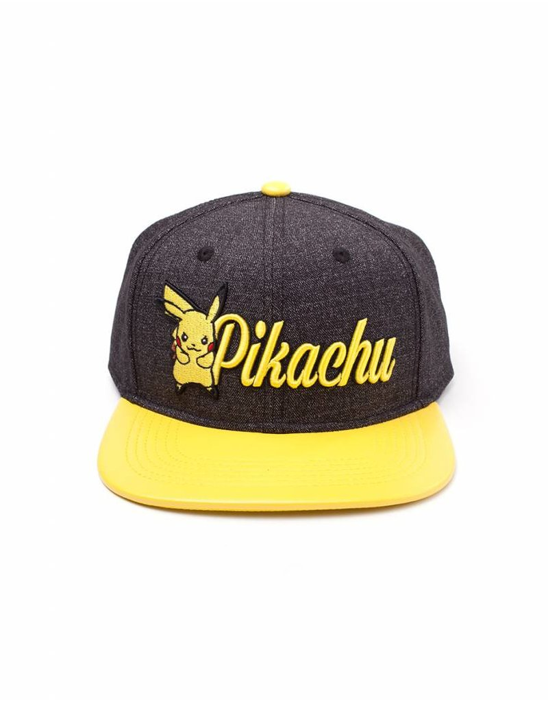 BIOWORLD Pokemon - Casquette Snapback - Broderie Pikachu