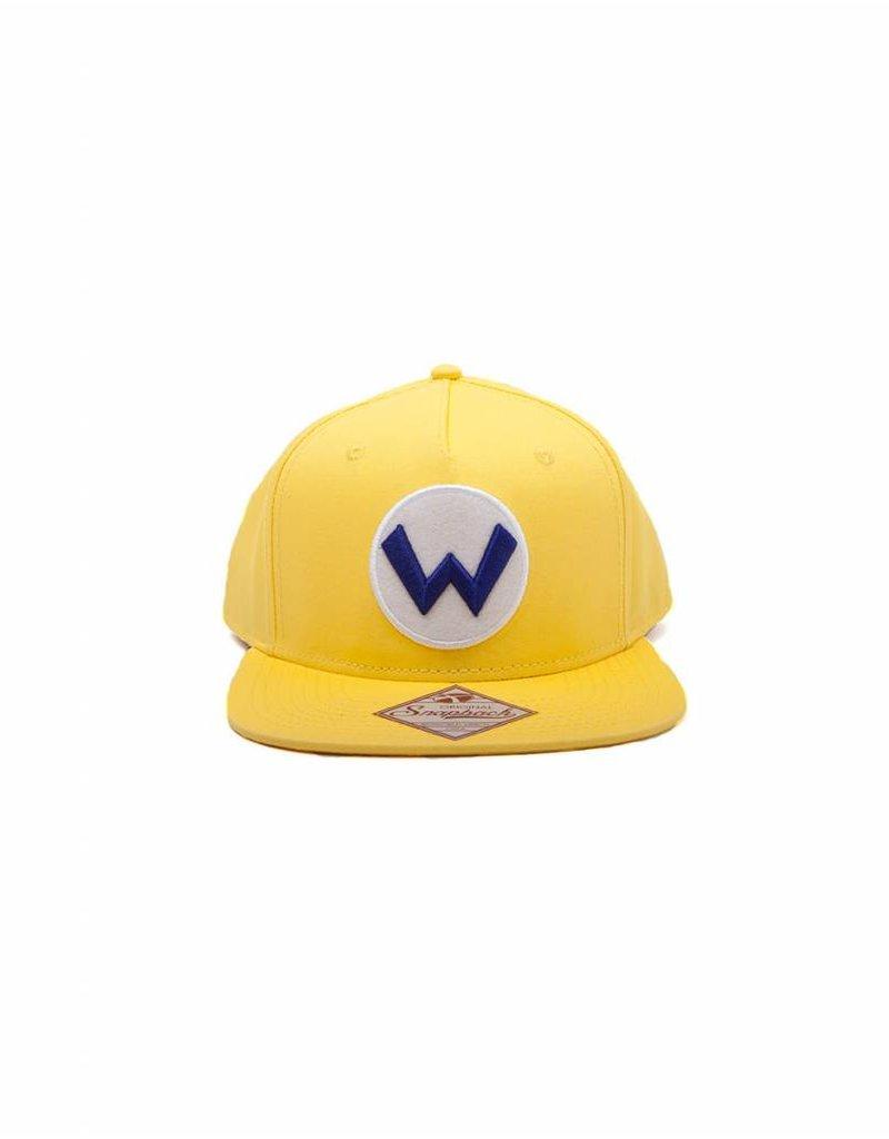 BIOWORLD Nintendo Casquette Snapback Wario Logo