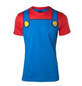 BIOWORLD Nintendo Super Mario Cosplay Men's T-shirt