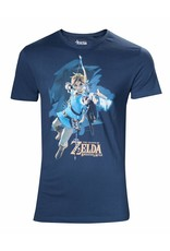 BIOWORLD The Legend of Zelda Breath of the Wild T-Shirt Homme Link with Arrow