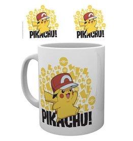THE POKEMON COMPANY Pokemon mug Ash Hat Pikachu