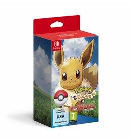 THE POKEMON COMPANY Pokémon : Let's Go, Évoli ! + Poké Ball Plus