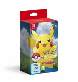 THE POKEMON COMPANY Pokémon : Let's Go, Pikachu ! + Poké Ball Plus