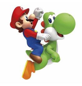 ROOM MATES Nintendo Décoration vinyle repositionnable géante Yoshi & Mario