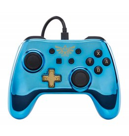 POWER A Manette Filaire Iconic Chrome Zelda