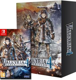 SEGA Valkyria Chronicles 4 Memoirs from Battle Premium Edition Switch