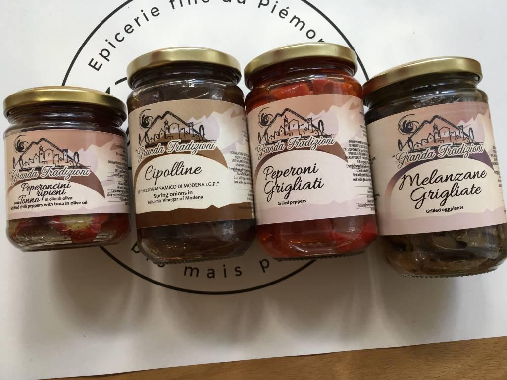 Granda Tradizioni Poivrons grillés dans l'huile d'olive