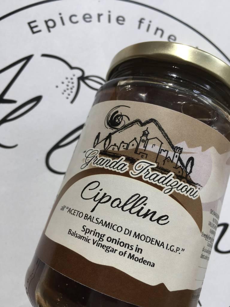 Granda Tradizioni Oignons dans le vinaigre balsamique de Modène IGP