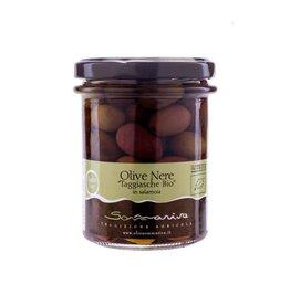 Sommariva Olives noires Taggiasche BIO 120gr