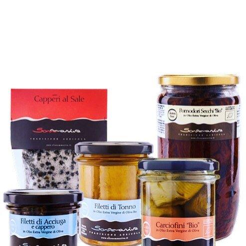 Sommariva Crème d'olives avec anchois & câpres - 100gr