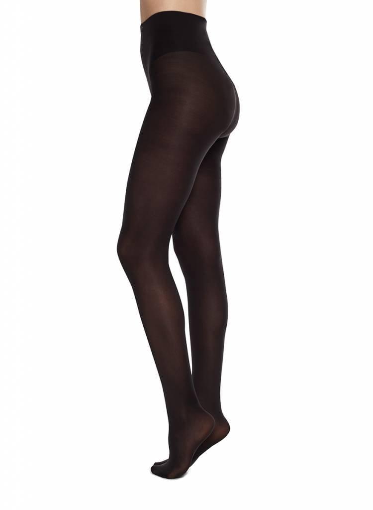 Swedish Stockings | Olivia tights 60 denier nearly black-2