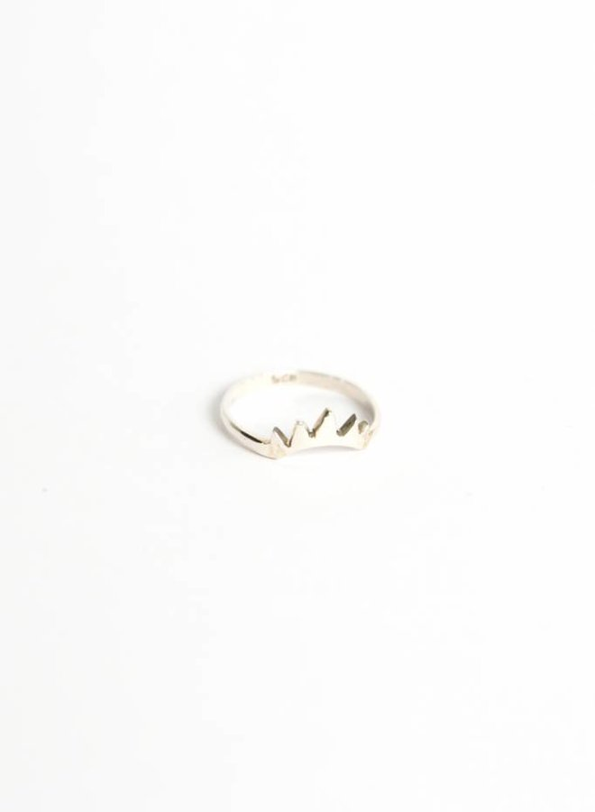 Wildthings | Empire ring silver