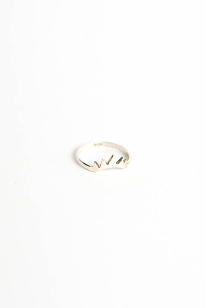 Empire ring silver