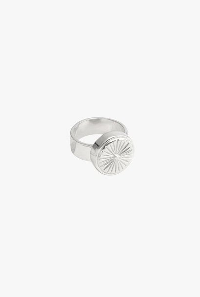Wildflower ring silver