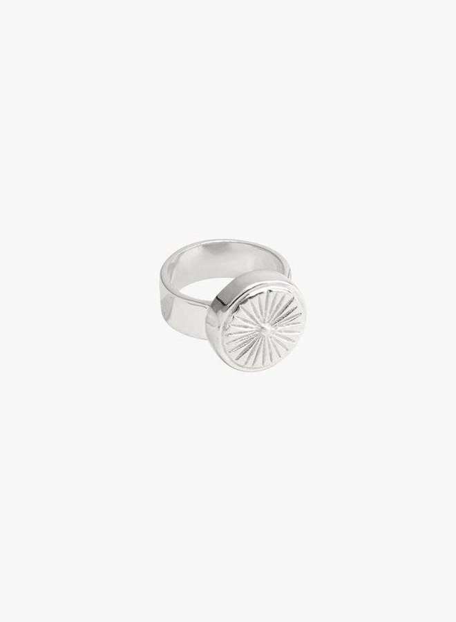 Wildthings | Wildflower ring silver