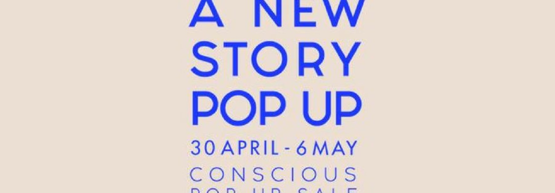 Take it slow en de New Story Pop-Up in Amsterdam