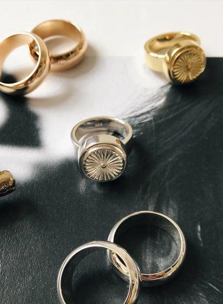Wildthings Wildflower ring silver