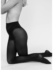 Swedish Stockings Olivia nearly black