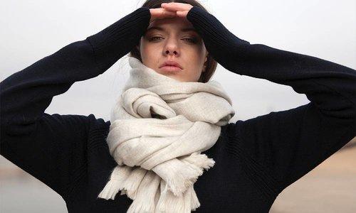 Bufandy - sjaal van Alpaca wol