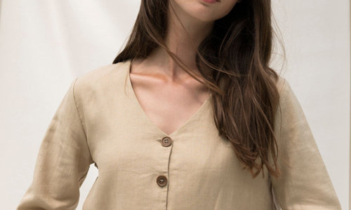 Fashion made of linen