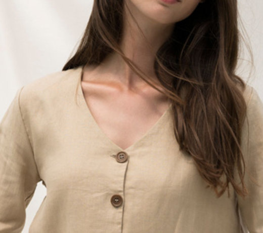 Slow fashion made of linen