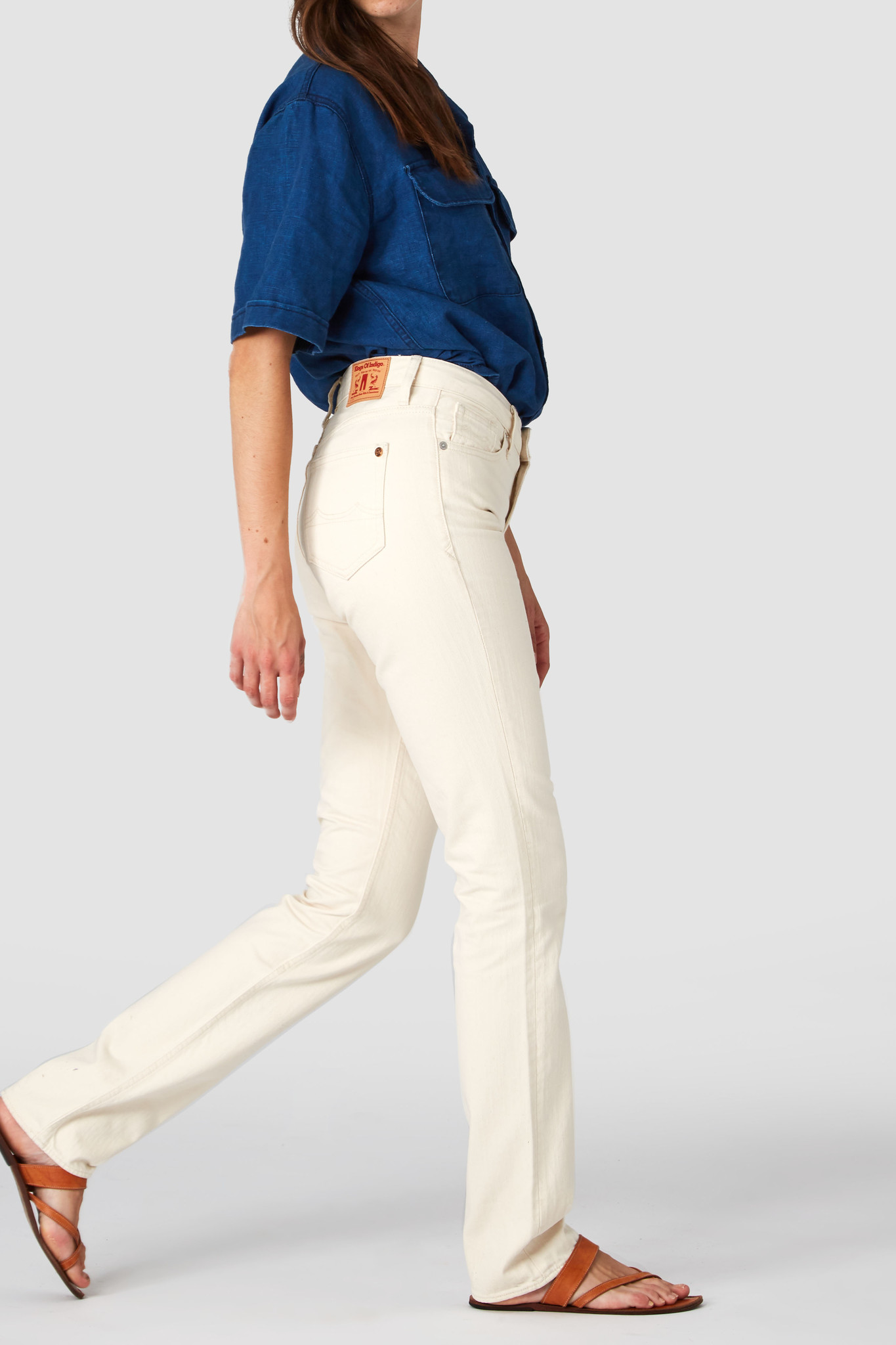 Kings of Indigo | Kimberly Slim Fit Jeans Organic Cotton-1