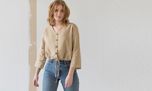 Duurzame blouse & tunieken voor dames