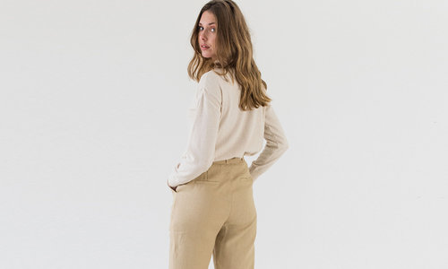 Trousers for women made with love