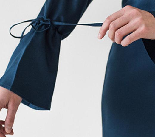 Cupro as an alternative to silk