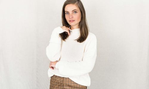 Duurzame fairtrade truien en vesten voor dames