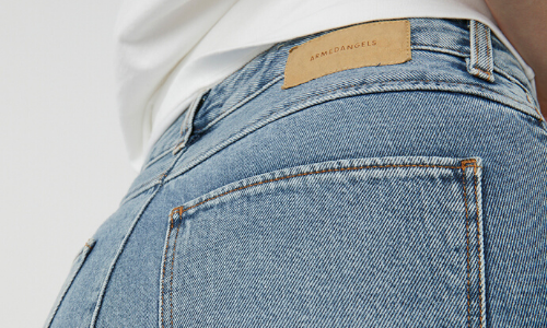The perfect denim made of organic cotton