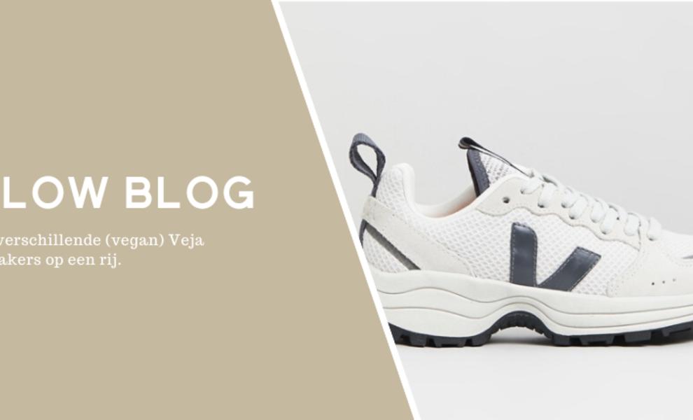De verschillende (vegan) Veja sneakers op een rij