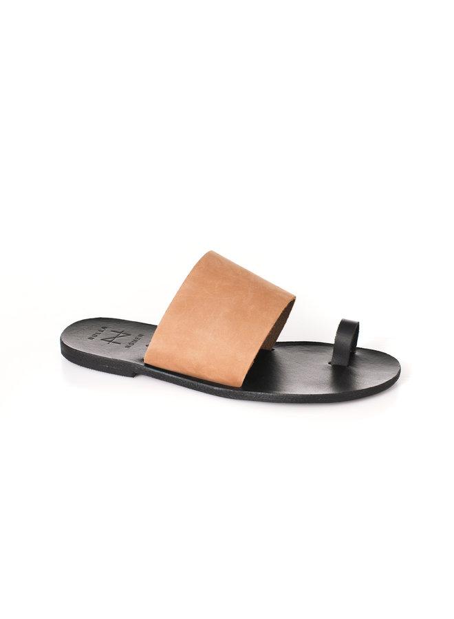 Nulla Nomen | Slipper Toe Strap Plantaardig Gelooid Leer