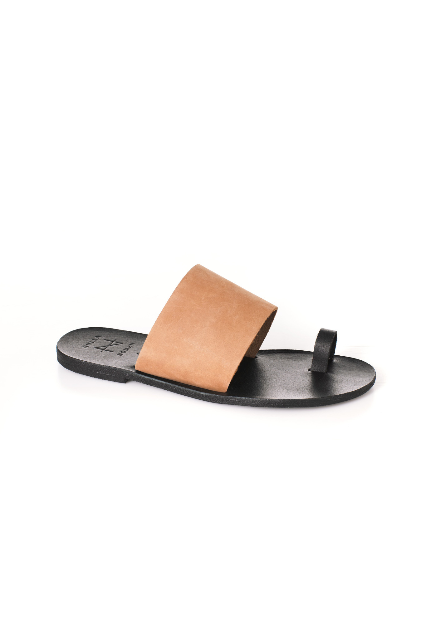 Nulla Nomen | Slipper Toe Strap Vegetable Tanned Leather-6