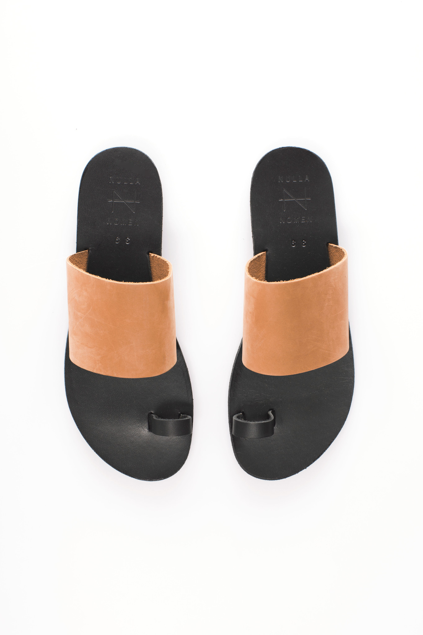 Nulla Nomen | Slipper Toe Strap Vegetable Tanned Leather-7