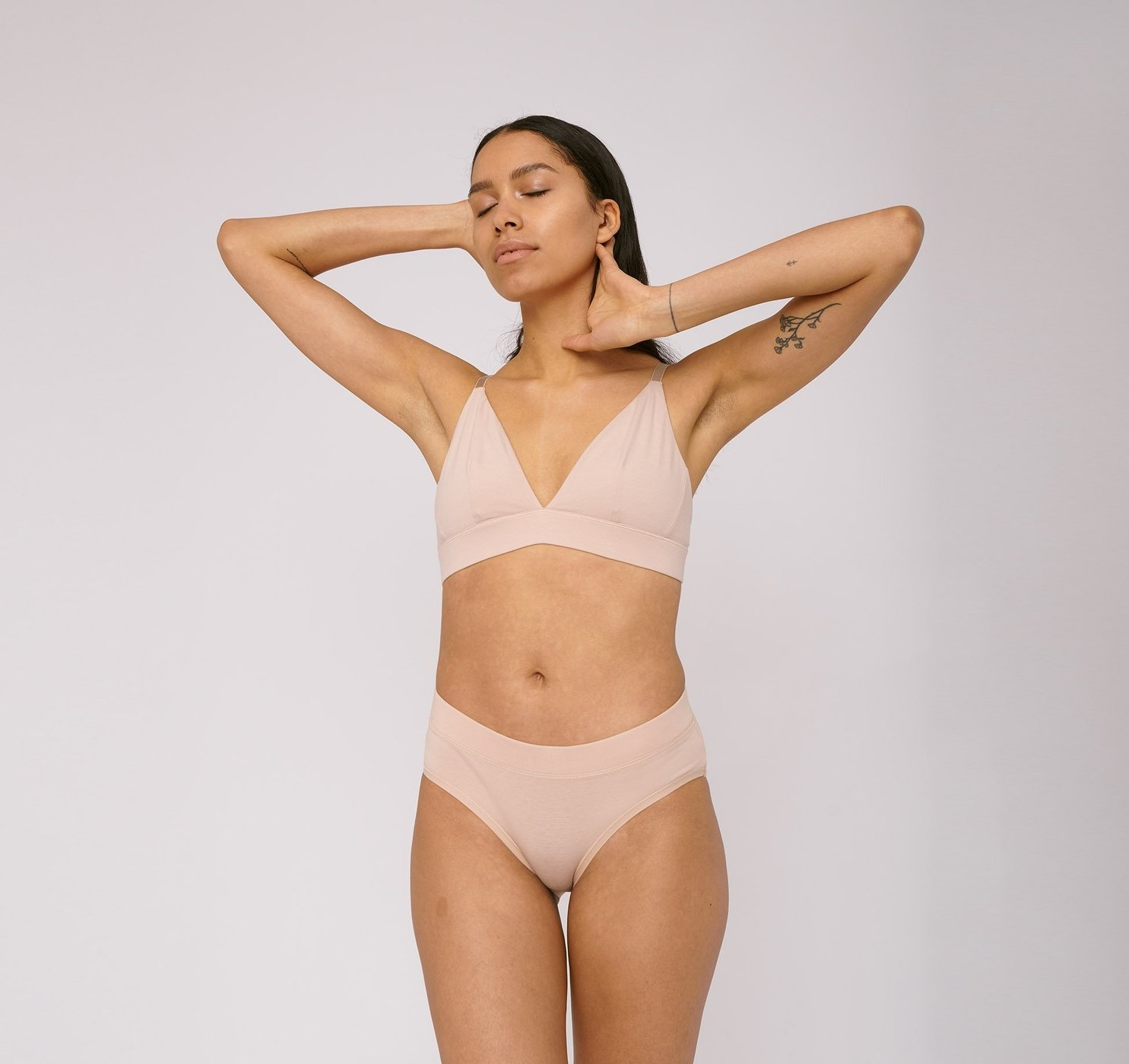 Organic Basics | Briefs 2-pack Rose Nude Organic Cotton-2