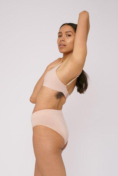 Organic Basics Bikini Briefs 2-pack Rose Nude Bio Katoen