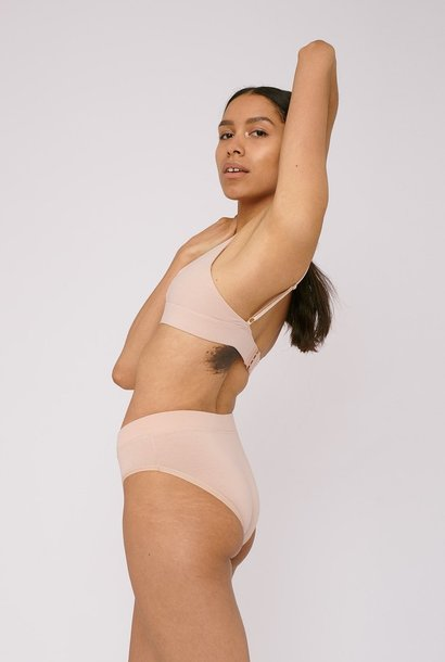 Organic Basics Briefs 2-pack Rose Nude Organic Cotton