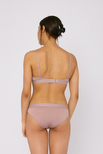 Organic Basics Soft Touch Briefs 2-pack Dusty Rose Tencel ™