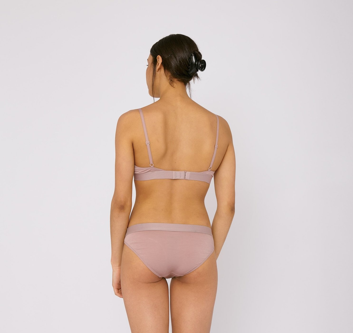 Organic Basics | Soft Touch Briefs 2-pack Dusty Rose Tencel ™-2