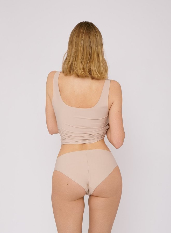 Organic Basics Invisible Cheeky Briefs 2-pack Rose Nude