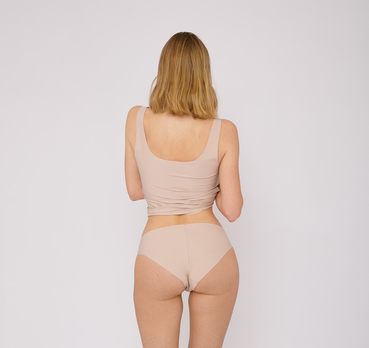 Organic Basics | Invisible Cheeky Briefs 2-pack Rose Nude-1