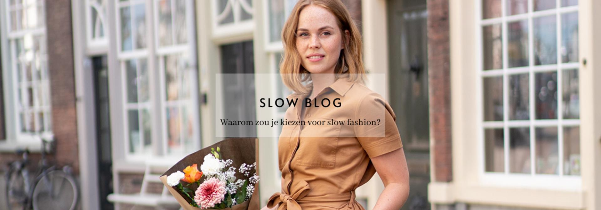 Waarom zou je kiezen voor slow fashion?