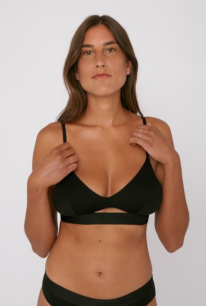 Organic Basics Soft Touch Bralette Black Tencel ™