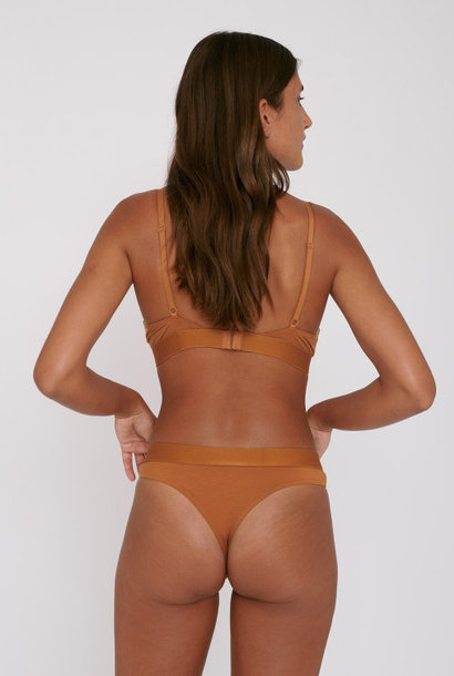 Organic Basics Soft Touch Briefs 2-pack Ocher Tencel ™